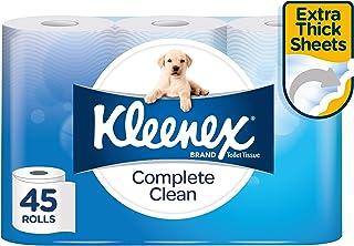 Complete Clean Toilet Paper 45 Rolls