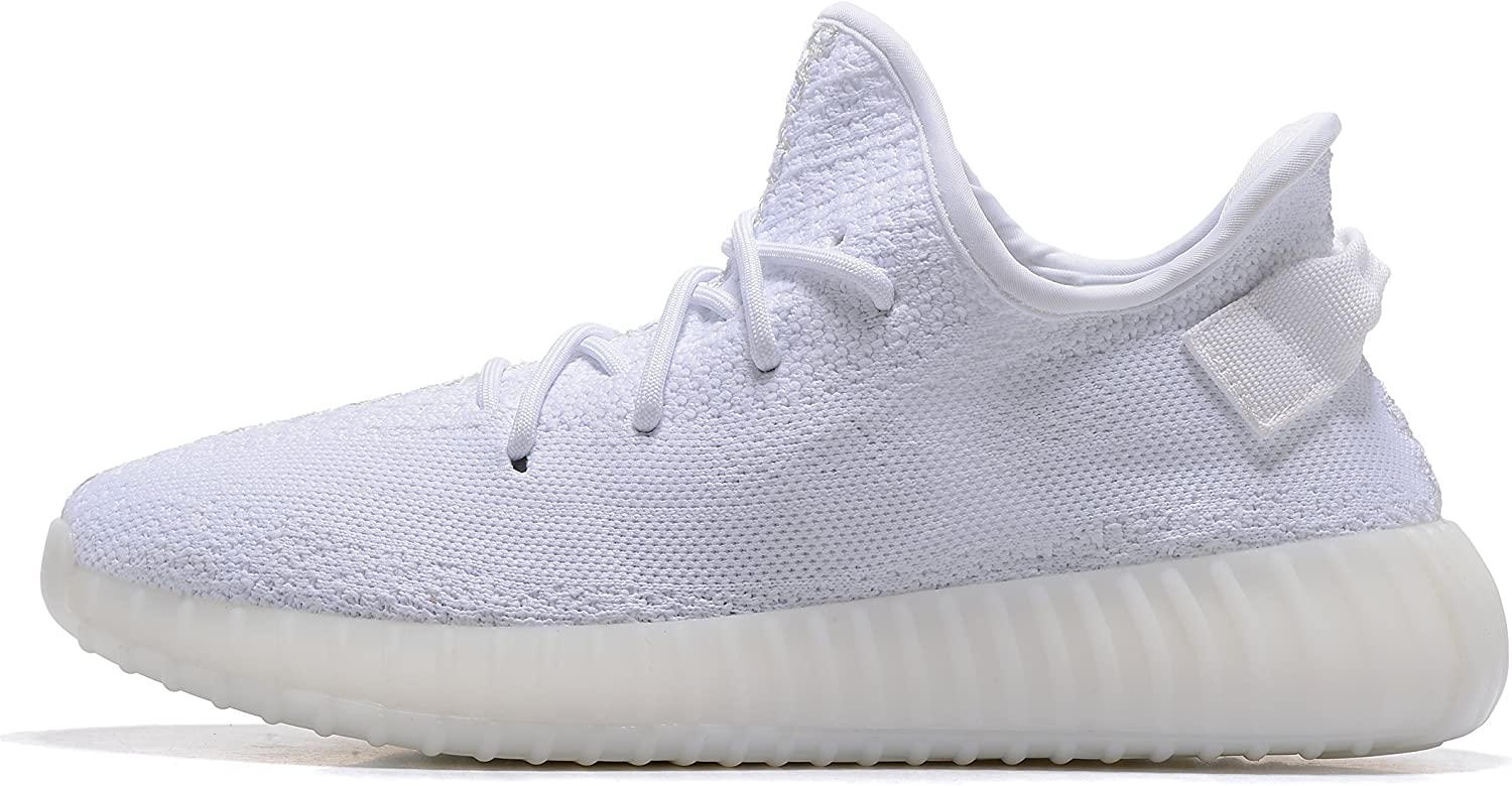 Adida Women's Boost 350 V2 Sneakers Sply 350 shoes White Series Breathable Mesh Running shoes