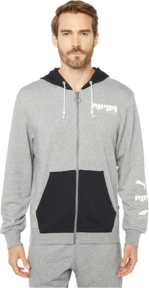 Medium Gray Heather/PUMA Black
