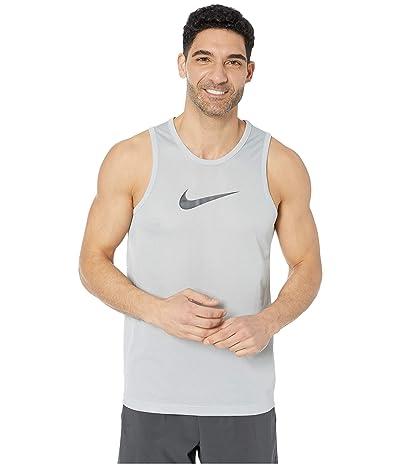 Nike Dry Top Sleeveless Crossover (Light Smoke Grey/Dark Smoke Grey) Men