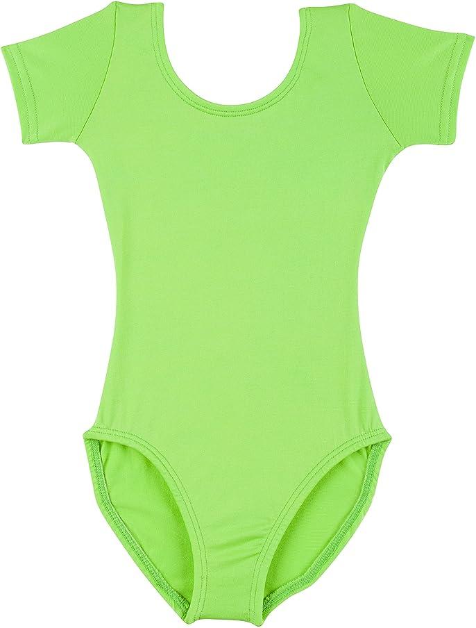 Leotard Boutique Short Sleeve Leotard for Dance, Gymnastics and Ballet (Infant & Baby Girls)