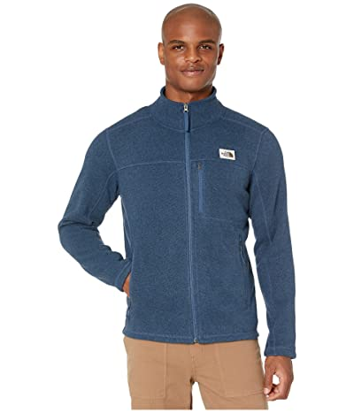 The North Face Gordon Lyons Full Zip (Shady Blue Heather) Men