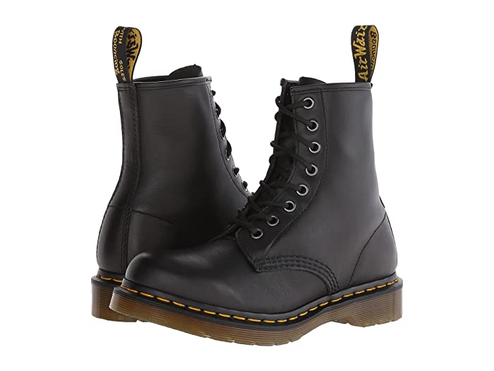 Dr martens 1460 women's patent leather lace up boots