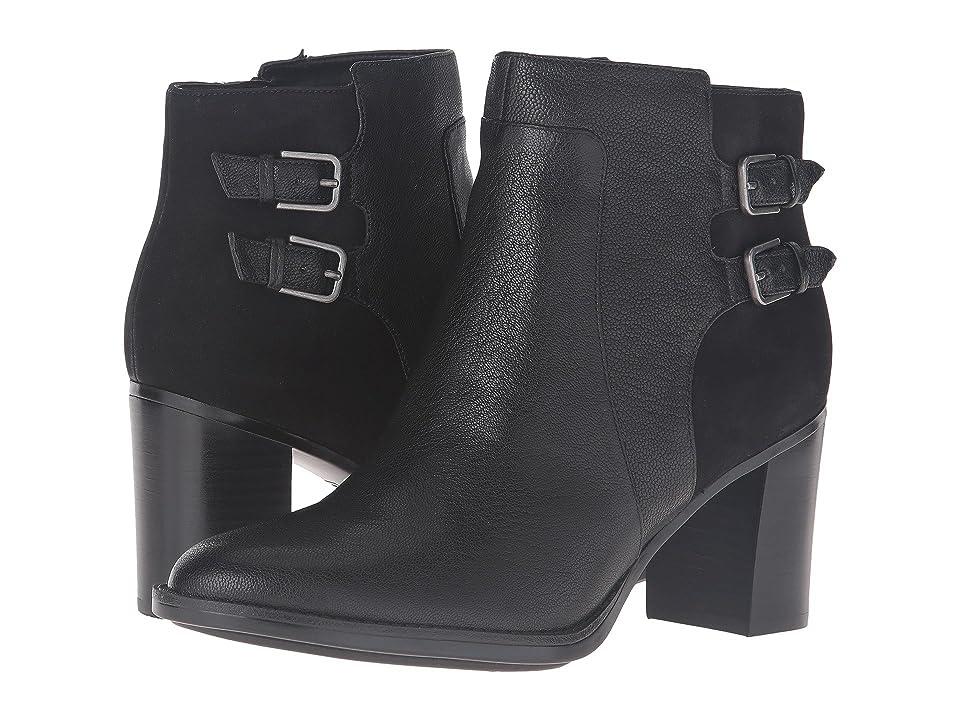Naturalizer Falza (Black Leather/Nubuck) Women