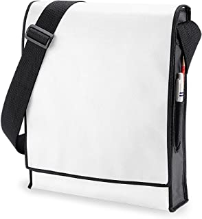 BagBase Budget Vertical Messenger Bag (10 Litres) (Pack of 2)