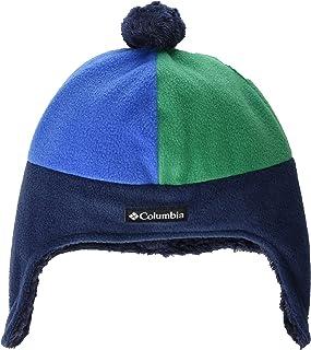 Columbia Youth Unisex Frosty Trail Earflap Beanie, Collegiate Navy/Bright Indigo, L/XL