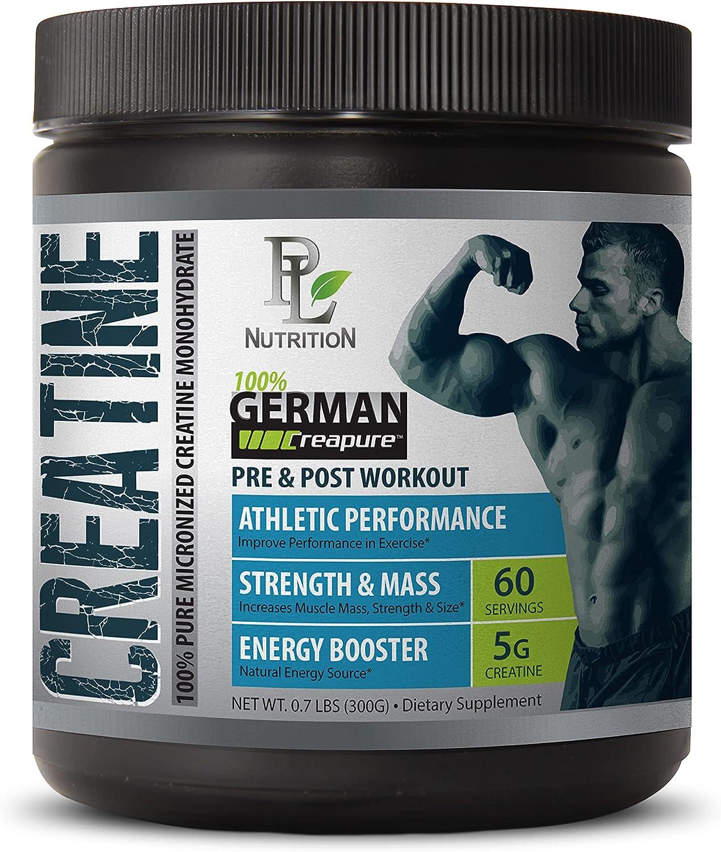 Stamina Supplements - German Powder CREATI MICRONIZED CREATINE High material Ranking TOP20