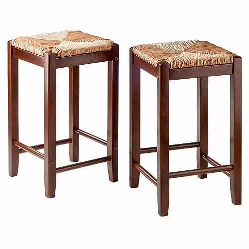 Terrific Woven Bar Stool Amazon Com Creativecarmelina Interior Chair Design Creativecarmelinacom