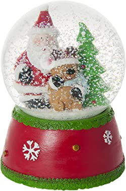 Mousehouse Gifts Musical Rudolf The Red Nose Reindeer Father Christmas Snow Globe Water Ball Decoration and Gift