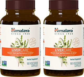 Sponsored Ad - Himalaya LiverCare (2 Pack) 180 VCaps for Liver Detox, Liver Cleanse and Regeneration 375mg