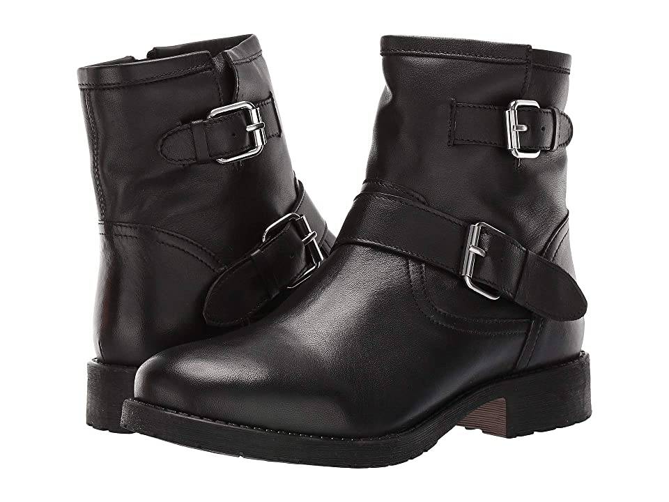 Steve Madden Morty (Black Leather) Women