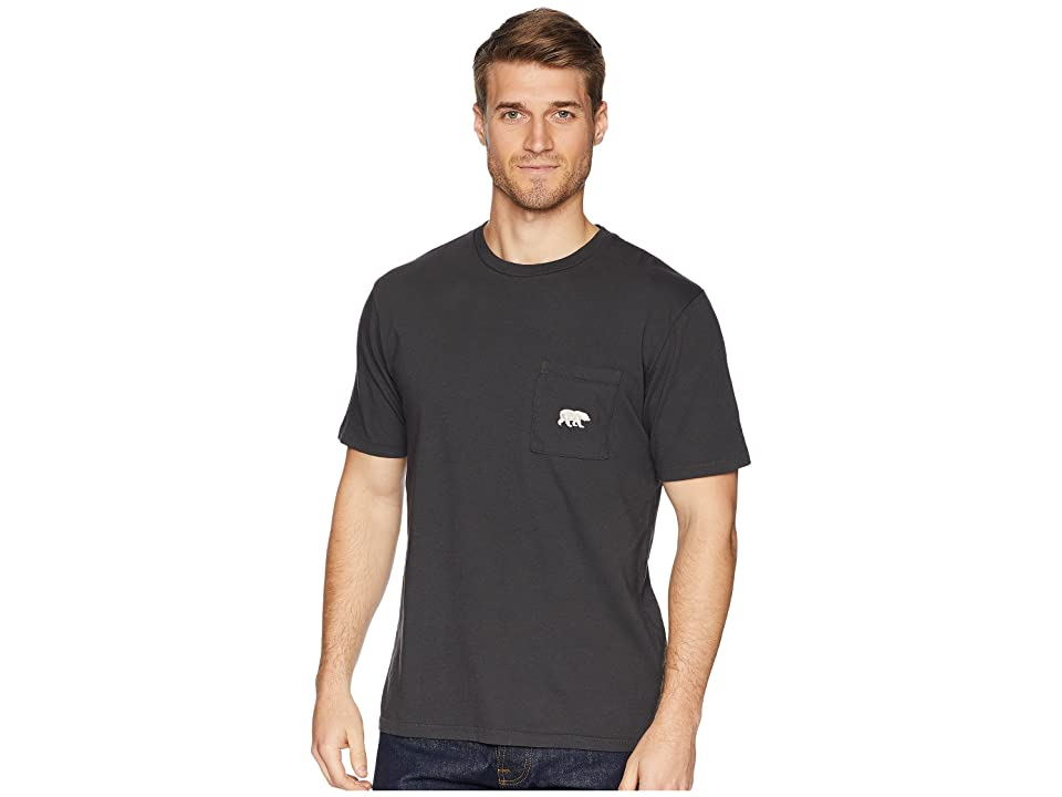 The North Face Well-Loved Pocket Tee (Weathered Black) Men