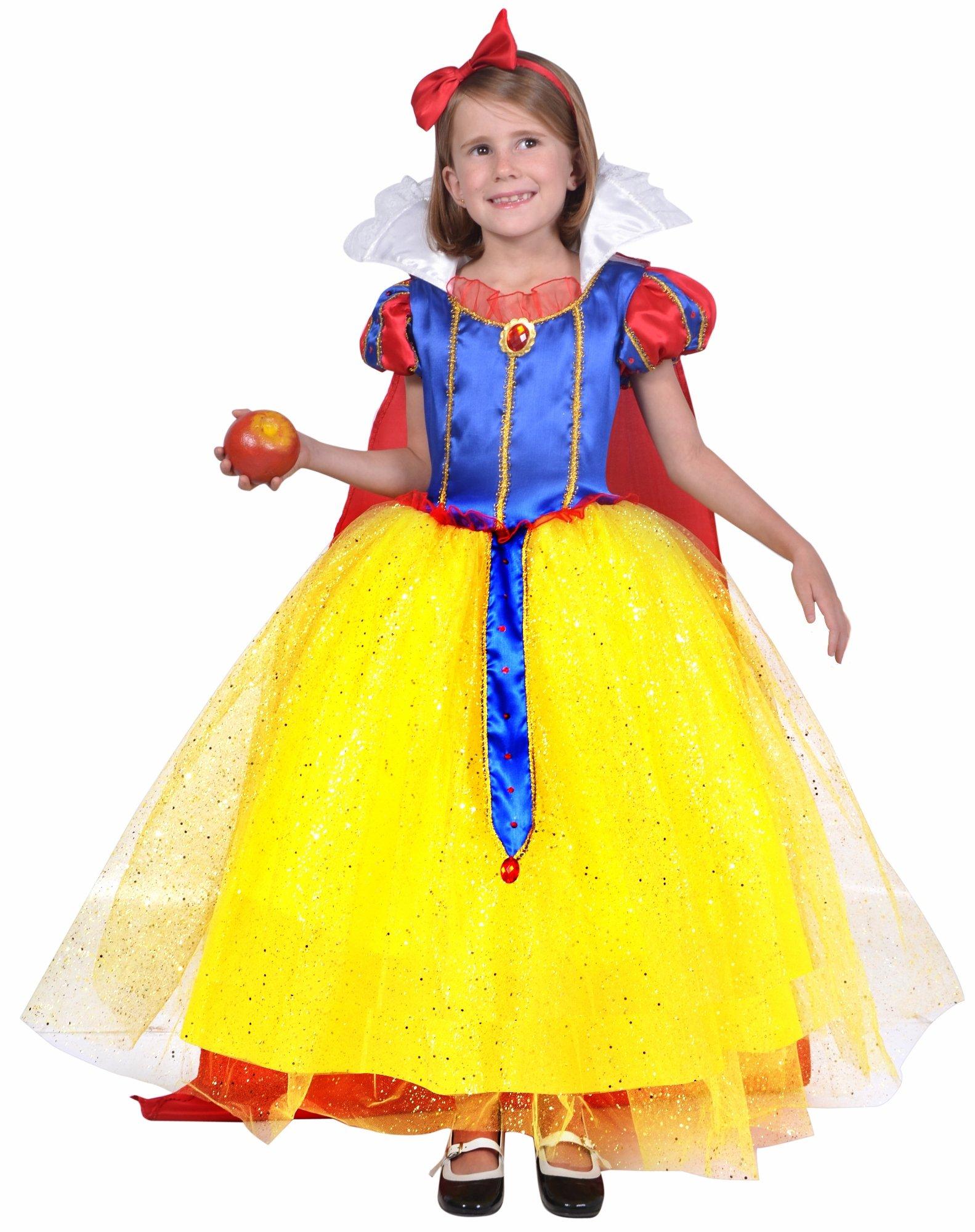 César - Disfraz para niña Blancanieves, talla T3 (F327-003 ...