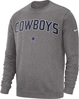 Dallas Cowboys NFL Mens Nike Fleece Club Crew