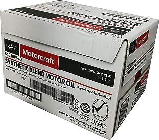 زيت محرك اصطناعي موتوركرافت 10w30 - من 12 قطعة سعة 1 لتر