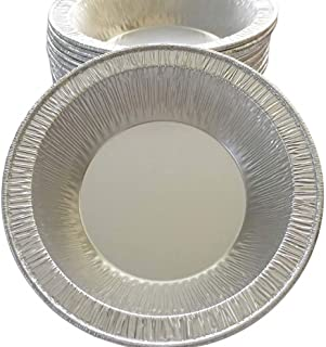 Aluminum Foil Disposable Baking Tart Pans 4-1/4 inches - Pie Tins - Small Pan - Made in USA (Pack of 100)