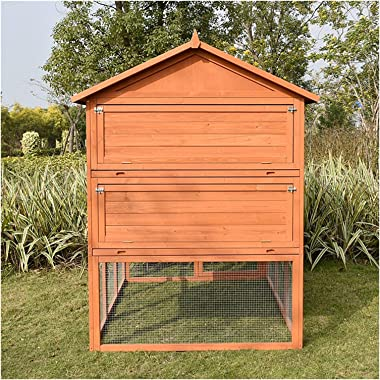 wanhaishop Bird Perches Large Outdoor Pigeon House Shed Bird Cage Large Terrace Garden Villa Flight Cage