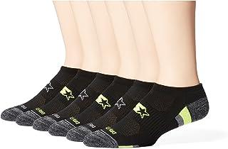 Starter Men's 6-Pack Athletic No-Show Socks, Amazon Exclusive