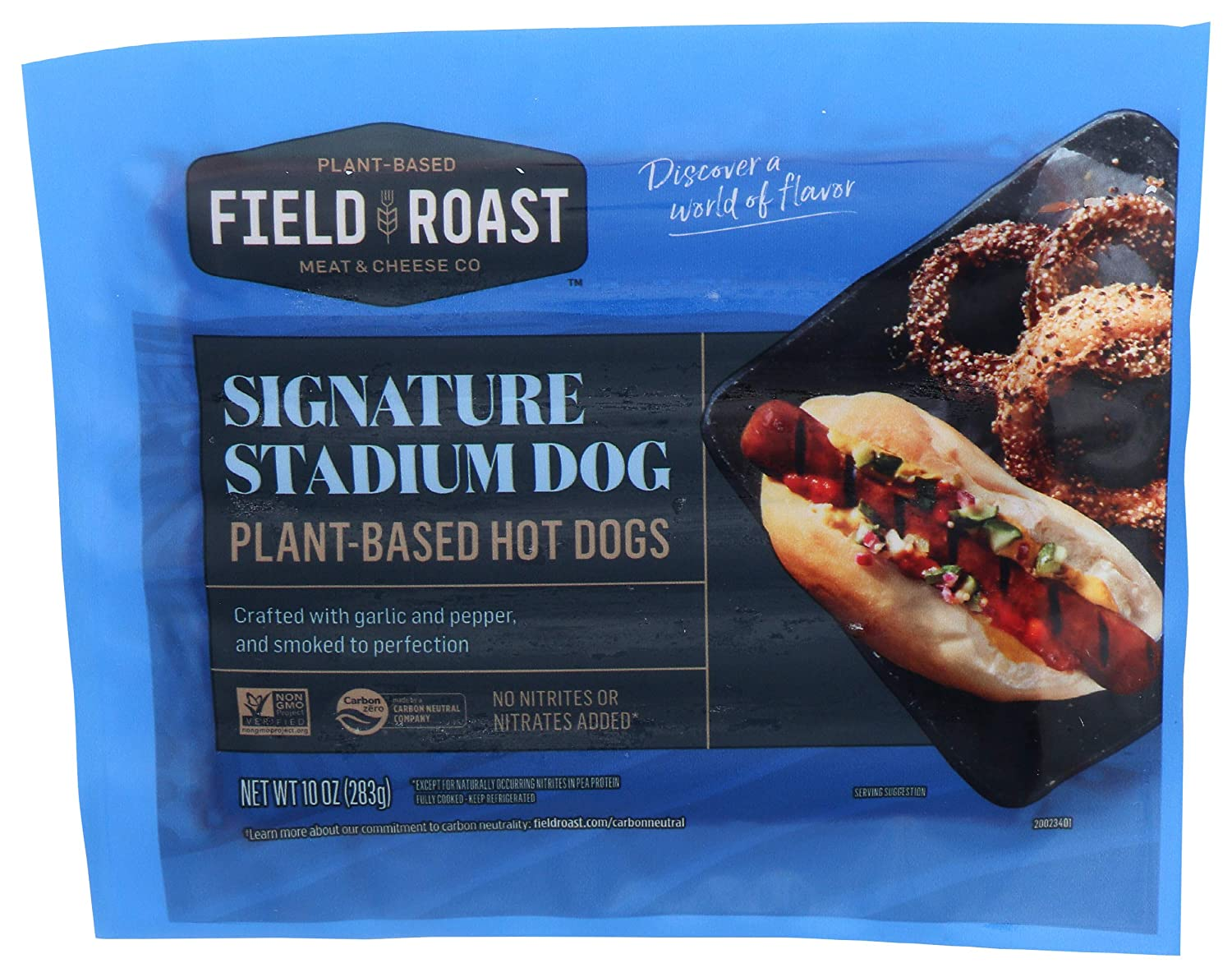 FIELD ROAST Plant Over item handling ☆ Based Signature All Dogs Hot 10 American OZ Some reservation