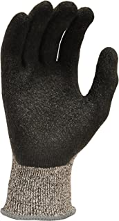 G & F 22600M Cutshield Cut Resistant Level 5 Work Gloves, Rubber Coated