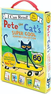 Pete the Cat's Super Cool Reading Collection: Too Cool for School/Play Ball!/Pete at the Beach/Pete's Big Lunch/A Pet for ...