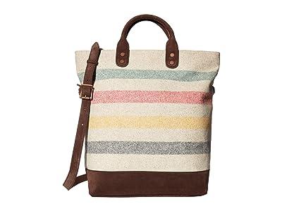 Pendleton Long Tote (Glacier Stripe) Tote Handbags