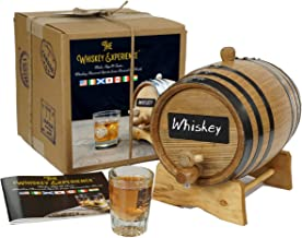 The Whiskey Experience - Premium Whiskey Making Kit | Make, Age & Taste Whiskies from Around the World | Single Malt Scotc...