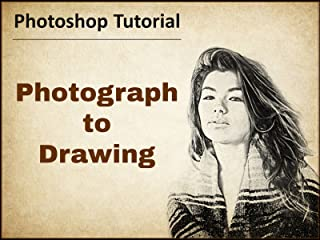 Photograph to Drawing - Photoshop Tutorial