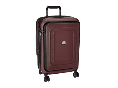 Delsey Cruise Lite Hardside 21 Expandable Spinner Carry-On (Black Cherry) Luggage