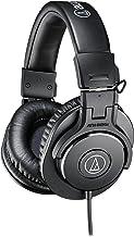 صوتی-تکنیکا ATH-M30x حرفه ای استودیو مانیتور هدفون، سیاه