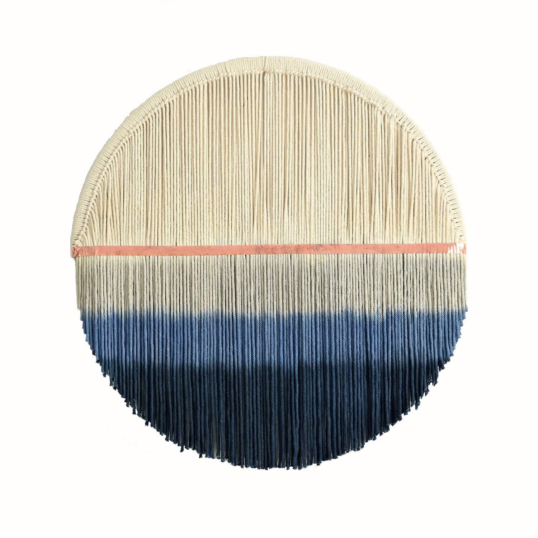 D/écoration Murale en macram/é Flber outlet Tiss/é /à la Main 60 cm de diam/ètre Rond Cercle en macram/é