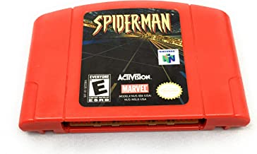 Spiderman Nintendo 64 Video Game N64