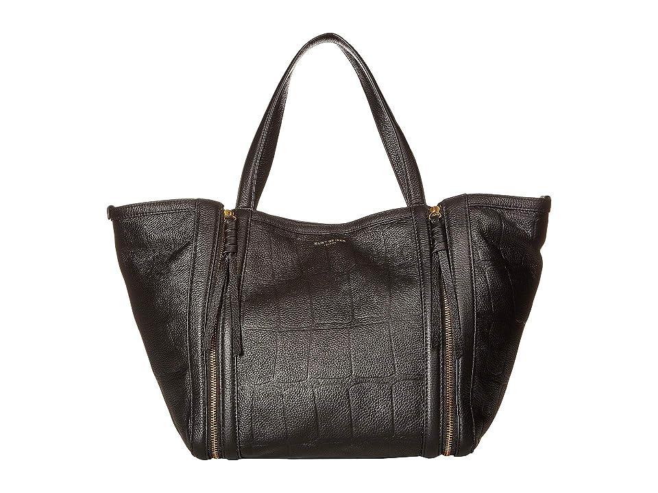Kurt Geiger London Leather Jane Shopper (Black) Handbags