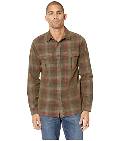 Royal Robbins Covert Cord Long Sleeve (Loden) Men
