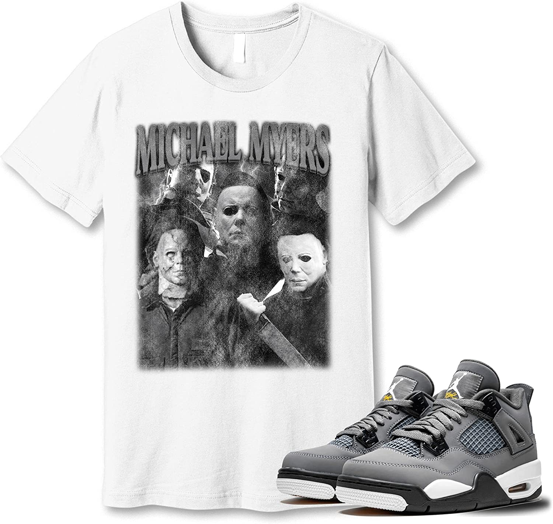 #Michael #Myer T-Shirt Ranking TOP17 to Popular brand Match Jordan Cool Grey 4 Snkrs Sneaker