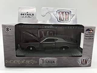 M2 Machines Titanium 1971 Dodge Charger R/T HEMI 1:64 Scale WMTS06 16-14 Matte Grey Details Like NO Other! Over 42 Parts 1 of 6800
