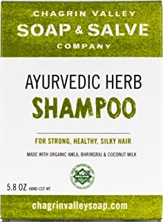 Organic Natural Shampoo Bar, Ayurvedic Herb, Chagrin Valley Soap & Salve
