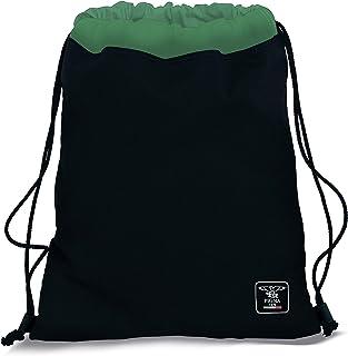 Pigna Sacca Gym Rpet Recycled, Nero / Verde