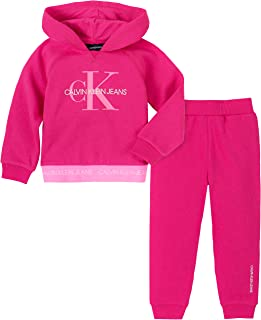 Calvin Klein Girls' 2 Pieces Jog Set