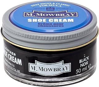 [M.モゥブレィ] シューケア 靴磨き 栄養 保革 補色 ツヤ出しクリーム シュークリームジャー