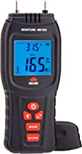 NoCry Digital Moisture Meter – Water Leak Detector and Thermometer for Wood &..