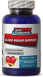Blood Sugar Support Unique Formula - Dietary Supplement (1 Bottle, 60 capslues)