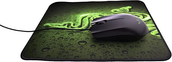 Razer Abyssus 1800 Gaming Mouse and Goliathus (Speed) Mat Bundle