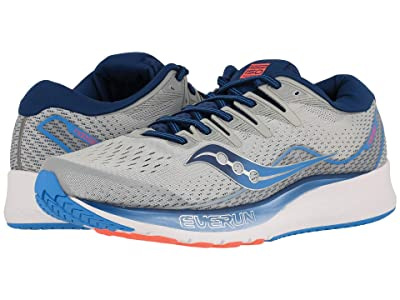 Saucony Ride ISO 2 (Grey/Blue) Men