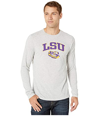 Champion College LSU Tigers Field Day Long Sleeve Tee (Oxford Grey) Men