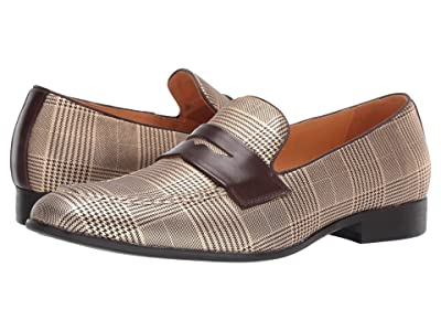 Carrucci Glen Plaid (Gold) Men