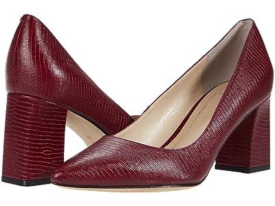 Marc Fisher LTD Zala 15 (Dark Red Leather) Women