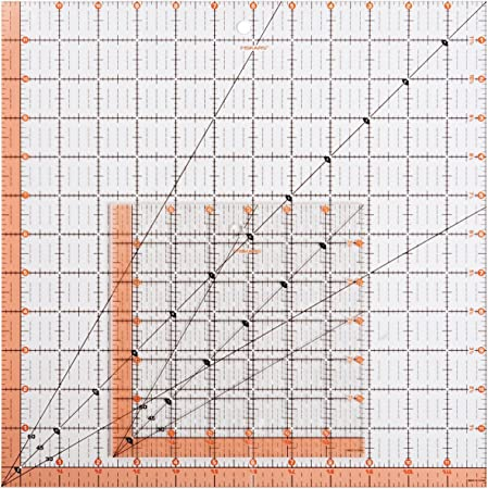 Dritz OmniEdge 4-Inch by 36-Inch Non-Slip Quilters Ruler