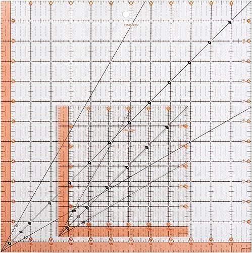 excelentes precios Fiskars cuadrado acrílico regla Set (187210 (187210 (187210 1001)  venta caliente en línea