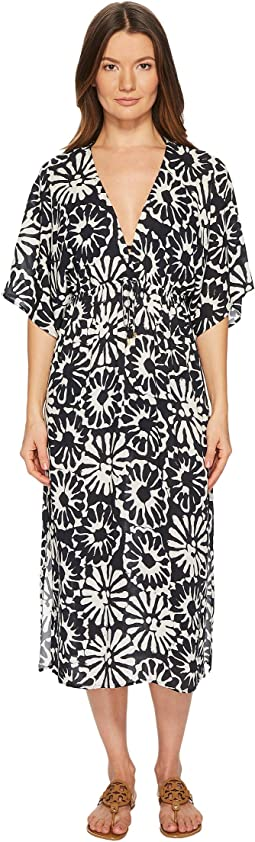 Pomelo Floral Midi Dress Cover-Up